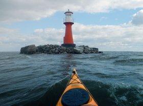 Guidet kayak tours from Klaipeda
